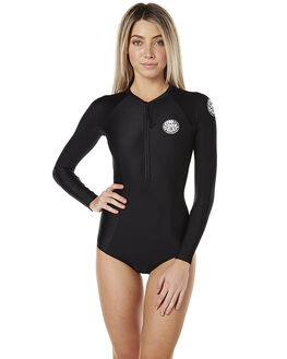 BLACK SURF WETSUITS RIP CURL SPRINGSUITS - WLY6EW0090