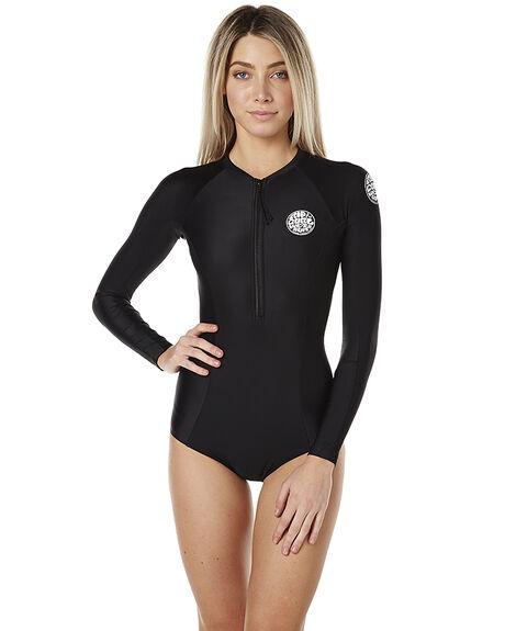27674a358f Womens Long Sleeve Zip Basic Rash Vest By Roxy Online The Iconic Australia  | 2019 trends | xoosha