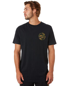 LIGHT ACID BLACK MENS CLOTHING SANTA CRUZ TEES - SC-MTA0548ACBLK