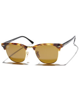 SPOTTED BROWN WOMENS ACCESSORIES RAY-BAN SUNGLASSES - 0RB3016491160