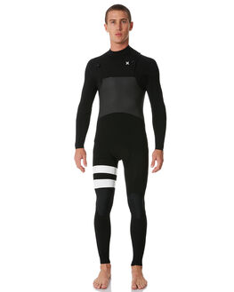 BLACK SURF WETSUITS HURLEY STEAMERS - MFS000057000A
