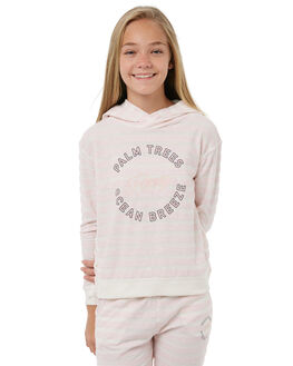 ROSE TAN HEATH BICO KIDS GIRLS ROXY JUMPERS + JACKETS - ERGFT03255MHB3