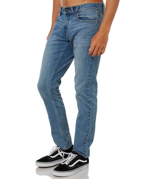 MARBOLED INDIGO MENS CLOTHING VOLCOM JEANS - A1931501VMI