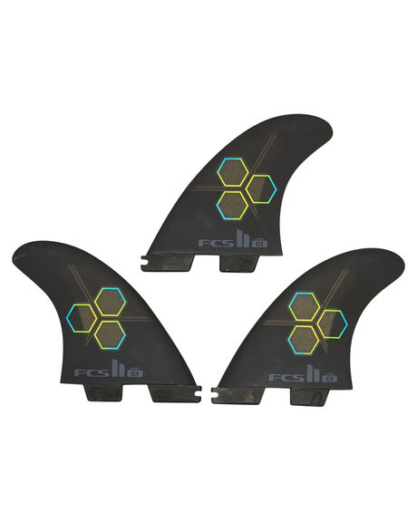 BLACK BOARDSPORTS SURF FCS FINS - FCIM-PC01-TS-RBLK