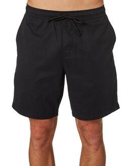 BLACK MENS CLOTHING DEPACTUS BOARDSHORTS - D5171235BLACK