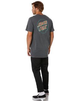 PIGMENT BLACK MENS CLOTHING SANTA CRUZ TEES - SC-MTA0545PGBLK