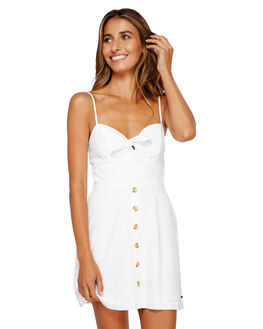 WHITE WOMENS CLOTHING BILLABONG DRESSES - BB-6595536M-WHT
