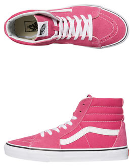 VERY BERRY WOMENS FOOTWEAR VANS HI TOPS - SSVNA38GEOVYVBEW