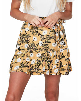 HONEY GOLD HONEY WOMENS CLOTHING ROXY SKIRTS - URJWK03008-YJY6