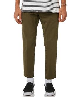 ARMY GREEN MENS CLOTHING DR DENIM PANTS - 1730109-318