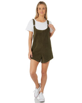 KHAKI WOMENS CLOTHING SWELL PLAYSUITS + OVERALLS - S8183453KHAKI