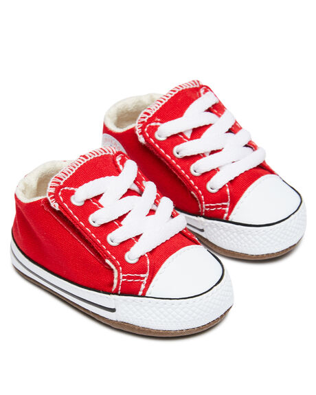 UNIVERSITY RED KIDS BOYS CONVERSE FOOTWEAR - 866933CURED