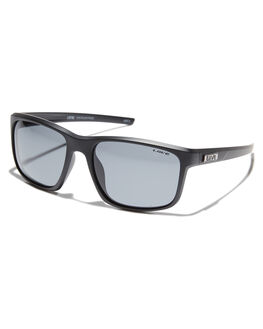 MATTE BLACK MENS ACCESSORIES LIIVE VISION SUNGLASSES - L0586AMTBLK