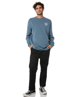 BLUE MIRAGE WHITE MENS CLOTHING HERSCHEL SUPPLY CO JUMPERS - 50032-00611