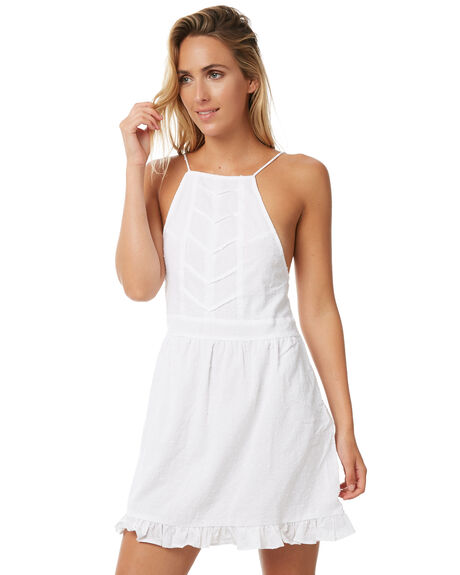 WHITE WOMENS CLOTHING RUE STIIC DRESSES - S118-13WHT