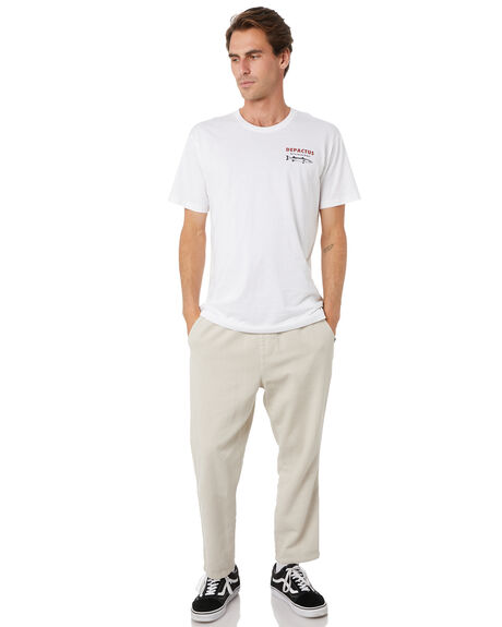 WHITE MENS CLOTHING DEPACTUS TEES - D5204003WHT