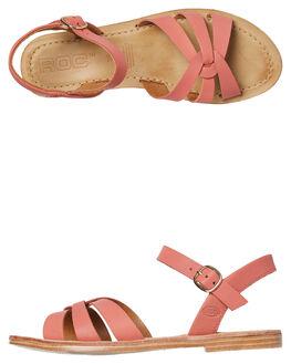 SALMON WOMENS FOOTWEAR ROC BOOTS AUSTRALIA FASHION SANDALS - TSRWS1721SLMN