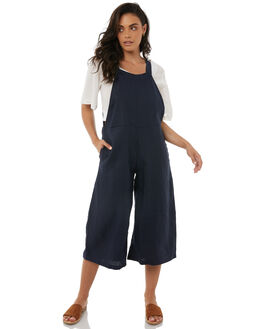 NAVY WOMENS CLOTHING ZULU AND ZEPHYR PLAYSUITS + OVERALLS - ZZ1833NAVY