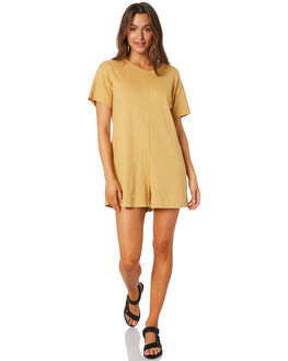 MUSTARD WOMENS CLOTHING THE BARE ROAD PLAYSUITS + OVERALLS - 090741-01MUST