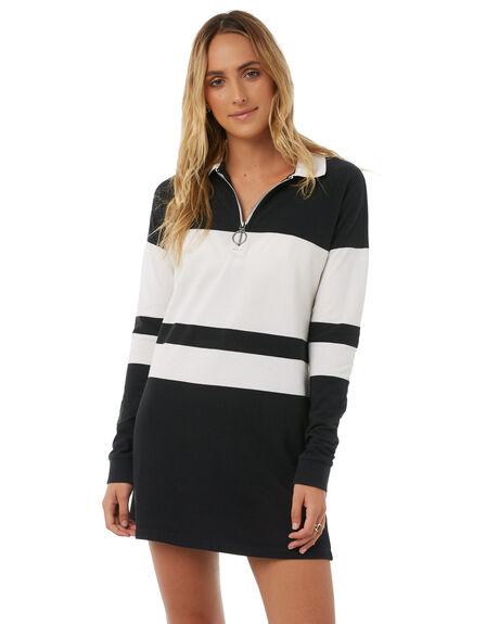 BLACK WOMENS CLOTHING VOLCOM DRESSES - B1311814BLK