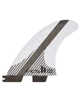 GREY BLACK BOARDSPORTS SURF FCS FINS - FFWM-CC02-MD-TS-RGRB
