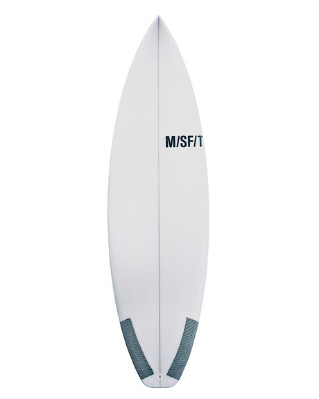 CLEAR SURF SURFBOARDS MISFIT PERFORMANCE - TRUFSHUF