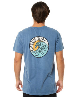 VINTAGE INDIGO MENS CLOTHING CATCH SURF TEES - A7TEE019VIND