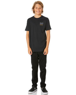 BLACK KIDS BOYS SWELL TOPS - S3203001BLACK