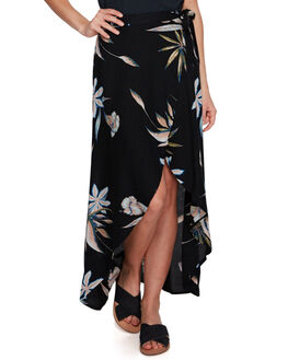 TRUE BLACK WOMENS CLOTHING ROXY SKIRTS - ERJWK03052KVJ8