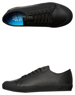 BLACK MENS FOOTWEAR KUSTOM SNEAKERS - 4967205ABLK