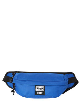 BLUE MENS ACCESSORIES OBEY BAGS + BACKPACKS - 100010121BLU