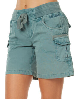 BLUE WOMENS CLOTHING RIP CURL SHORTS - GWAAY10070