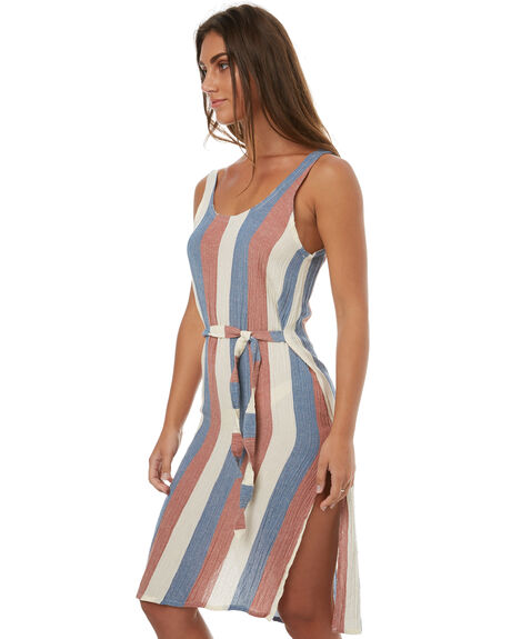 STRIPE WOMENS CLOTHING ZULU AND ZEPHYR DRESSES - ZZ1733STRI
