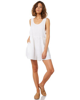 WHITE WOMENS CLOTHING BILLABONG PLAYSUITS + OVERALLS - 6582511WHT