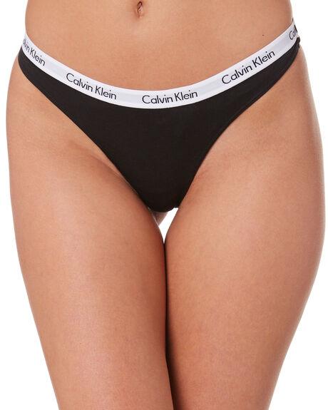 BLACK WOMENS CLOTHING CALVIN KLEIN SOCKS + UNDERWEAR - BD11617001