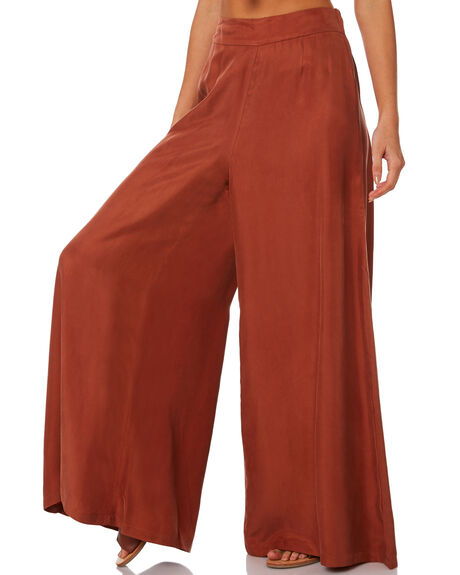 RUST WOMENS CLOTHING TIGERLILY PANTS - T393377RUS