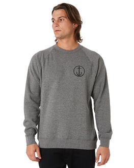 GUNMETAL MENS CLOTHING CAPTAIN FIN CO. JUMPERS - CFM4031600GMH