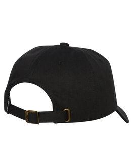 BLACK MENS ACCESSORIES VOLCOM HEADWEAR - D55118S3BLK
