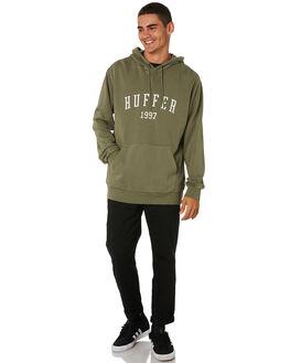 KHAKI MENS CLOTHING HUFFER JUMPERS - MHD91S30.342KHAKI