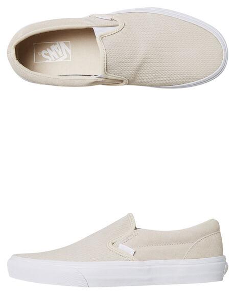 d1c60124ea Vans Womens Classic Slip On Shoe - Moonbeam