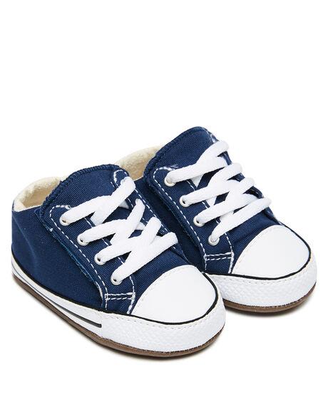 NAVY ORANGE KIDS BABY CONVERSE FOOTWEAR - 865158CNVYO