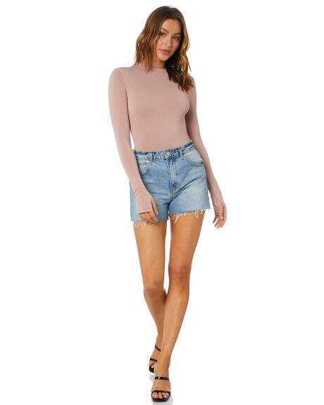 TAUPE WOMENS CLOTHING SNDYS FASHION TOPS - SEB018TPE