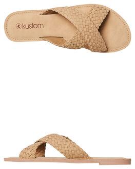 NUDE WOMENS FOOTWEAR KUSTOM FASHION SANDALS - 4677202ANUDE