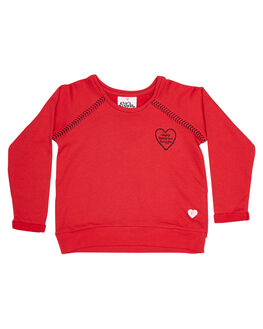 RED MARLE KIDS TODDLER GIRLS EVES SISTER JUMPERS - 8010017RED