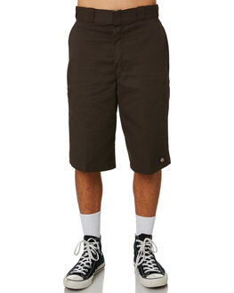 DARK BROWN MENS CLOTHING DICKIES SHORTS - 42283DBRN