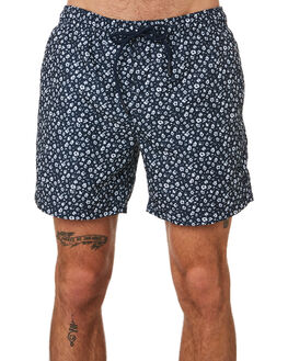 NAVY MENS CLOTHING ACADEMY BRAND BOARDSHORTS - 20S725NVY
