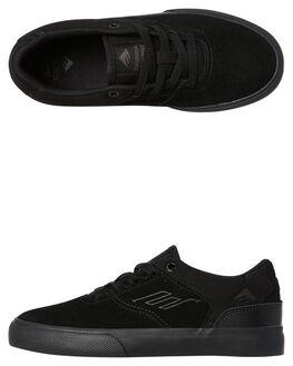 BLACK BLACK KIDS BOYS EMERICA SKATE SHOES - 6302000016-004