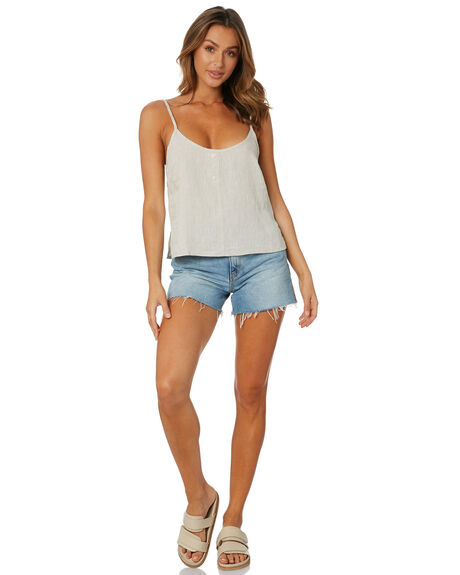 NATURAL WOMENS CLOTHING NUDE LUCY FASHION TOPS - NU23972NATRL