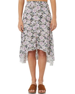 BLACK WOMENS CLOTHING THE HIDDEN WAY SKIRTS - H8184472BLACK