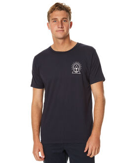 NAVY MENS CLOTHING IRON AND RESIN TEES - IR0762-SP17A0NVY